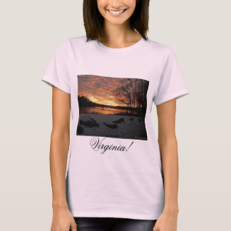 St James River Virginia T-Shirt