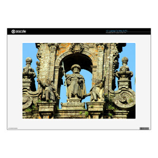 St James, Santiago de Compostela Cathedral, Spain Laptop Skins