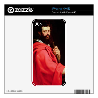 St. James the Apostle, c.1612-13 (oil on panel) iPhone 4 Decals