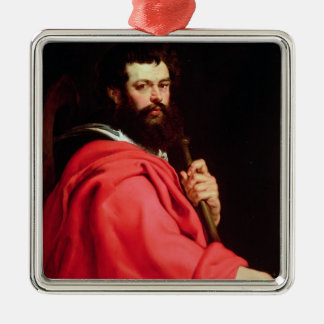 St. James the Apostle, c.1612-13 (oil on panel) Metal Ornament