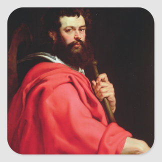 St. James the Apostle, c.1612-13 (oil on panel) Square Sticker