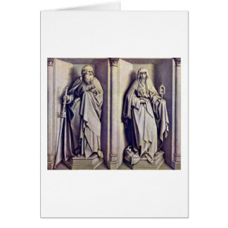 St.James The Elder And St.Clare By Robert Campin Card