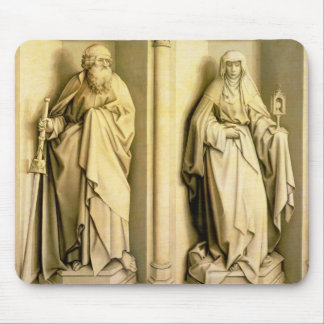 St. James the Great and St. Clare Mouse Pad
