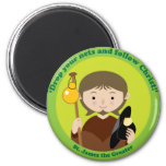 St. James the Greater 2 Inch Round Magnet