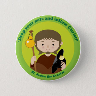 St. James the Greater Button