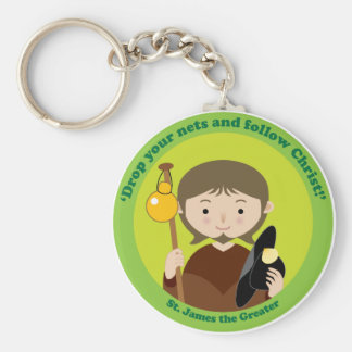 St. James the Greater Keychain