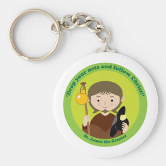 St. James the Greater Keychains