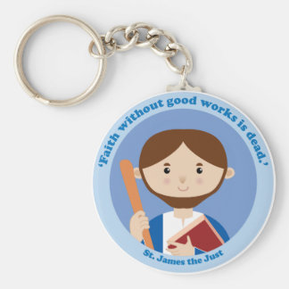 St. James the Just Keychains