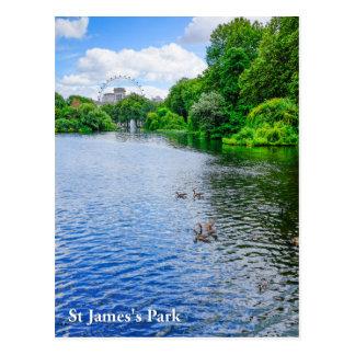St James's Park London UK Postcard