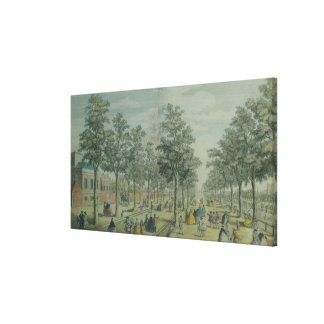 St. James's Park taken near the Stable Yard, 1750 Canvas Print