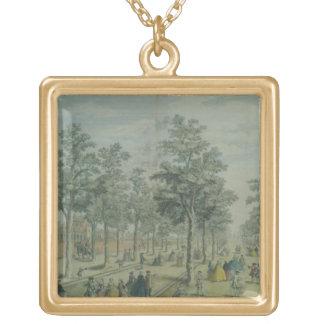 St. James's Park taken near the Stable Yard, 1750 Custom Jewelry