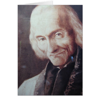 St. Jean Marie Vianney Greeting Card