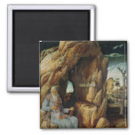 St. Jerome 2 Inch Square Magnet