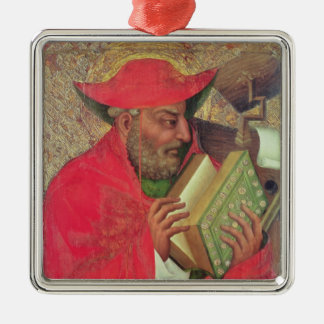 St. Jerome 2 Metal Ornament