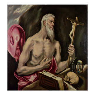 St. Jerome 2 Poster