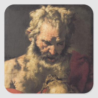 St. Jerome 3 Square Sticker