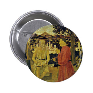 St. Jerome, And A Founder By Piero Della Francesca Buttons