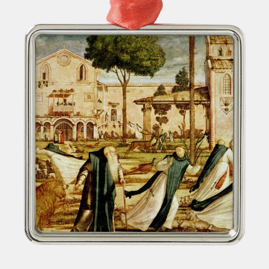 St. Jerome and Lion in the Monastery, 1501-09 Metal Ornament