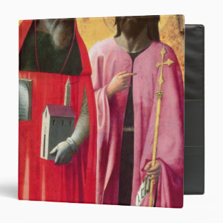 St. Jerome and St. John the Baptist, c.1428-29 Binder