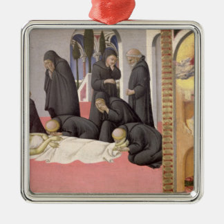 St. Jerome appearing to St. Cyril of Jerusalem, 14 Metal Ornament