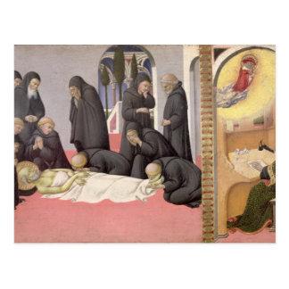 St. Jerome appearing to St. Cyril of Jerusalem, 14 Postcard