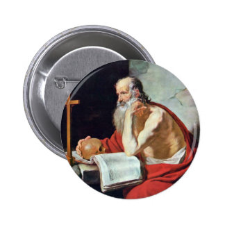 St. Jerome By Blanchard Jacques (Best Quality) Pin