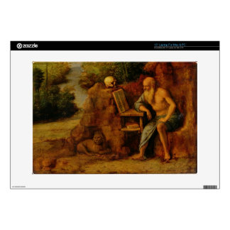 "St. Jerome, c.1500 (oil on panel) 15"" Laptop Decals"