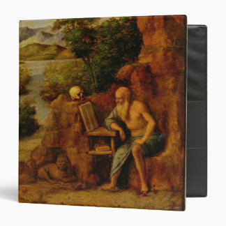 St. Jerome, c.1500 (oil on panel) 3 Ring Binder