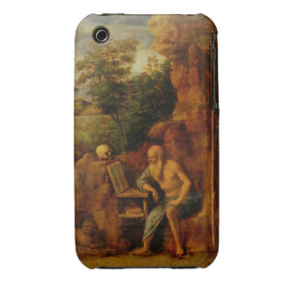 St. Jerome, c.1500 (oil on panel) Case-Mate iPhone 3 Case