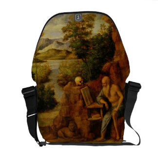 St. Jerome, c.1500 (oil on panel) Courier Bag