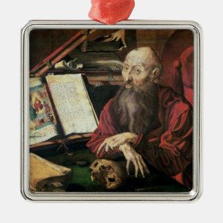 St. Jerome, c.1540-50 Metal Ornament