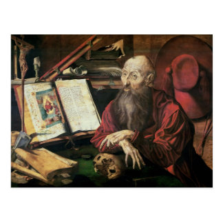 St. Jerome, c.1540-50 Postcard