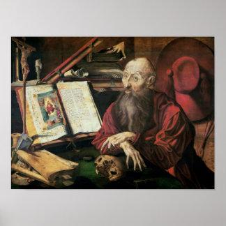 St. Jerome, c.1540-50 Poster