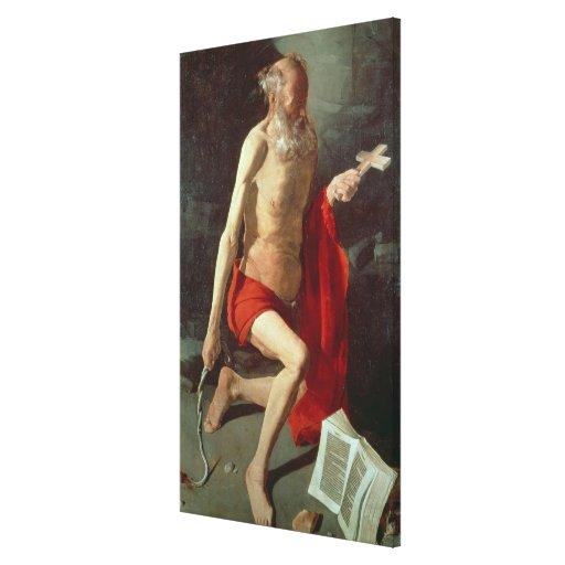 St. Jerome, c.1620 Canvas Print
