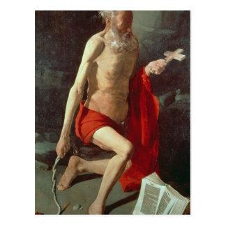 St. Jerome, c.1620 Post Card