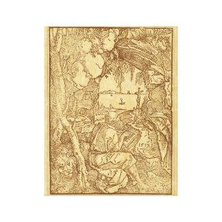 St Jerome Canvas Print