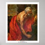 St Jerome de Dyck Anthonis Van Posters