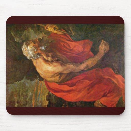 St Jerome de Dyck Anthonis Van Alfombrillas De Raton