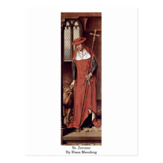 St Jerome de Hans Memling Tarjetas Postales