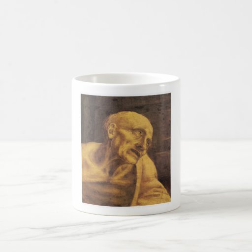 St Jerome de Leonardo da Vinci circa 1481 Taza