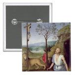 St Jerome en el desierto, c.1499-1502 Pins