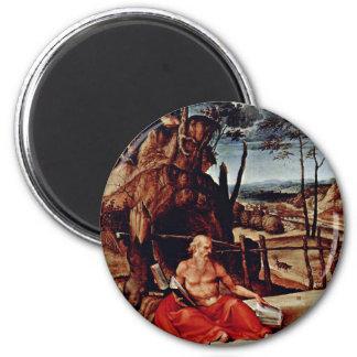 St Jerome en el desierto por la loteria Lorenzo (e Imán