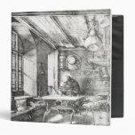 """St Jerome en su estudio, 1514 Carpeta 1 1/2"""""""