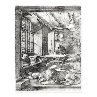 St Jerome en su estudio, 1514 Postal