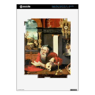 St Jerome en su estudio iPad 3 Skins