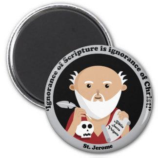 St Jerome Imán Para Frigorifico