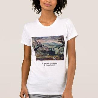 St. Jerome In A Landscape By Massys Cornelis T Shirts
