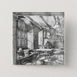 St. Jerome in his Study, 1514 Pinback Button