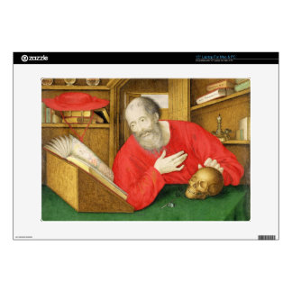 "St. Jerome in his Study, 1650 (bodycolour and w/c 15"" Laptop Decal"