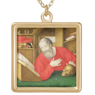 St. Jerome in his Study, 1650 (bodycolour and w/c Jewelry